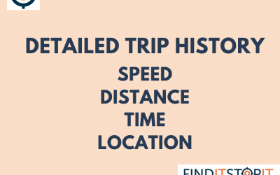 Key Features of Find It Stop It Device: Detailed Trip History