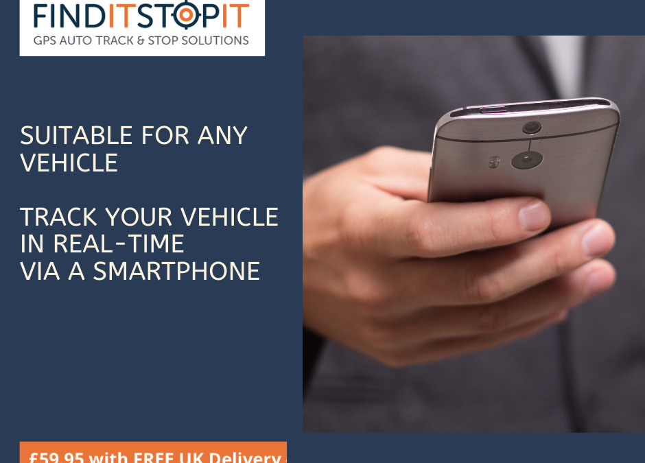 Track Your Vehicle In Real-Time Via A Smartphone