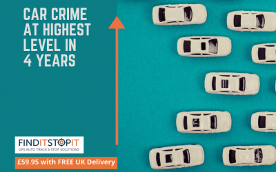 Car Crime at Highest Level in 4 Years