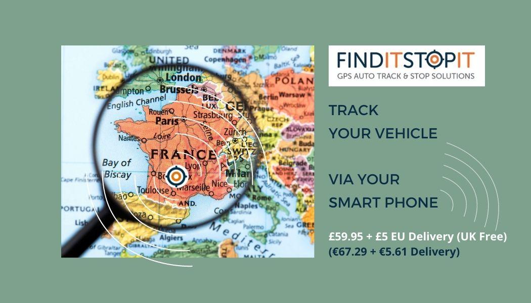 GPS Tracker for Europe