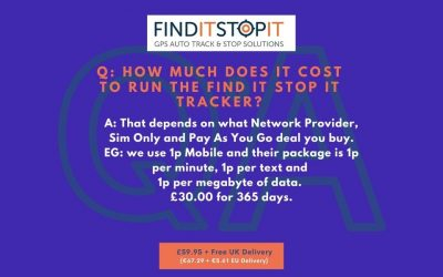 FAQ:  How Much Does It Cost To Run The Find It Stop It Tracker?