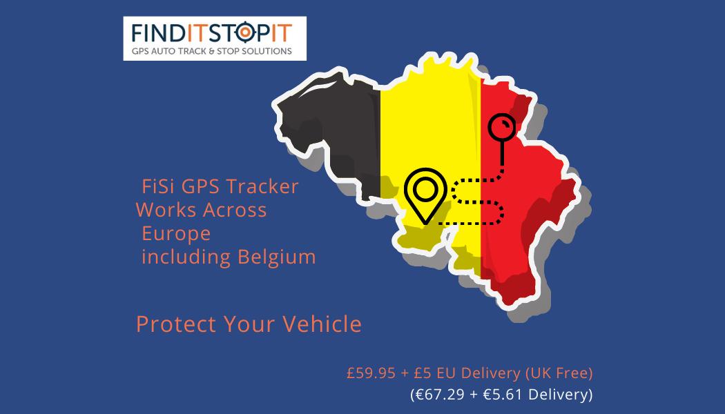 GPS Tracker for Belgium