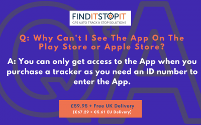 FAQ:  Why Can't I See The App On The Play Store or Apple Store?