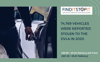 How Many Vehicles Were Reported Stolen to the DVLA in 2020?